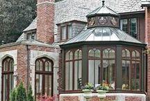 Orangeries/Conservatories/Sunhouses/Glasshouses/Greenhouses/Kitchen extensions/you name 'em :)