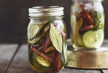 to create: pickles & preserves