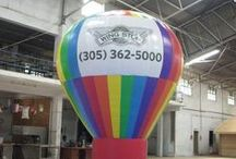 Balloon Advertisement / Inflatable Balloons Advertising is a very effective and cost effective means to get your message to your target audience. The advantage of getting balloon for marketing your brand is that you can get your own design on it; you can place logo, offers or your tag line on it. This is the best way to advertise your brand as this type balloon can catch attention of the audiences immediately.