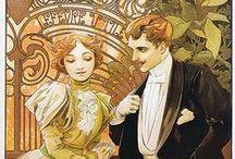 szecesszió, art nouveau, art deco