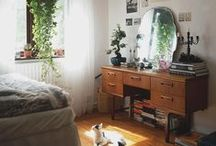 Interior / Mainly mid-century elements and a lot of plants