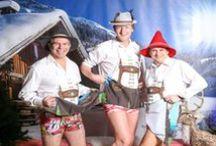 Soirée thème Autriche / Décoration de salle, traiteur, animations et même invités, tout le monde joue le jeu de l'ambiance montagnarde ! Préparez la culotte en peau, le chapeau tyrolien et les sabots car une fois ces photos visionnées, vous vous retrouverez immergés dans les montagnes autrichiennes.