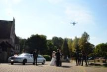Mariage VIP / Arrivée en hélicoptère, virée en limousine et drone qui filme l'événement, rien est trop beau pour votre mariage !