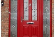 Doors / Weatherglaze doors for homes and businesses. Custom made #composite doors for security.