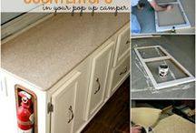 Camper Countertops & Cabinets