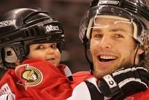 Players & Kids / Hockey players + kids = cuteness
