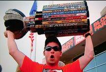 Hockey Fans / Passion, team spirit, die-hard hockey fans
