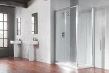 Shower Enclosures / Shower enclosures come in all shapes, sizes and designs, here are a few to inspire you.