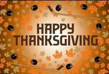 Hockey Thanksgiving / We are thankful for the sport of hockey