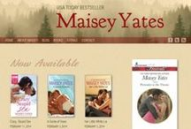Best Romance Author Websites / Romance author websites I like (or with elements that I like).