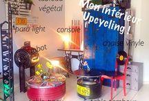 Upcycling / Déco Faire du beau avec du vieux .. Créations à partir de matériaux de récup .