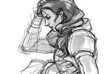 estudos de desenho •