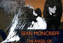 Angels in street art / We've used a street art image by Eelus for the cover of Sean Moncrieff's novel THE ANGEL OF THE STREETLAMPS and come across more great works featuring angels. Here is a selection, from all over the world.