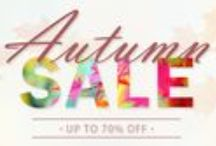 Autumn Sale / Bag yourself a bargain and view all of our Autumn 2015 sale offers!