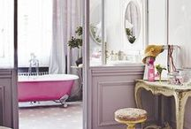 Girly Bathroom / pretty, girly bathrooms