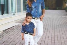 [MOTHER AND SON MATCHING OUTFITS]