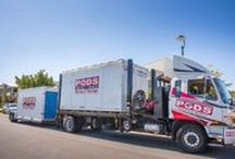 All about PODS Australia - AUSPODS / Introducing PODS® Portable On Demand Storage Reinvented Moving and Storage Solutions - Cost effective, reliable and convenient - Pack at your own pace - Easy ground level loading - Pack and unpack once - Secure - only you can access your goods - Move when you are ready, local or interstate - Packing supplies and Insurance available - PODS® containers fit into a single car space* *Special clearance requirements are needed to place the container.