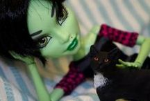 My own Monster High CAMs / Monster High dolls