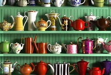 Tea Time / a collection of unusual teapots / by The Morrigan's Daughter .
