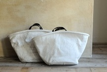 CANVAS TOTES / BAGS / by Patricia Teissere
