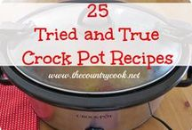 Crock Pot creations / by Stevie Larson