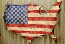 Patriotic Ideas / by Rebecca Shaver