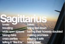 Sagittarian  / Sagittarians have a positive outlook on life, are full of enterprise, energy, versatility, adventurousness and eagerness to extend experience beyond the physically familiar.