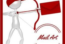 mail art inspirations / Ideas to make snail mail interesting and beauiful