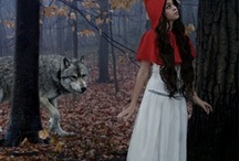 """Lil Red Riding Hood / I have always loved this song """"Little Red Riding Hood"""" even if it reminds me of a night of terror. Domestic violence at it's worst. This board is dedicated to all domestic violence survivors."""