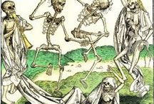 Halloween Party: Danse Macabre / Inspired by medieval Dance of Death art / by Adalune