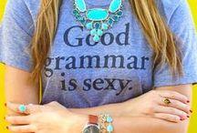 Word Nerd / Writing, library, poetry, typewriters, grammar, puns / by Erin O'Riordan