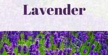Lavender / The color...The flower...I love it all for design, relaxation, and inspiration