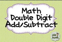 Math - Double Digit Addition and Subtraction