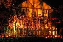 Sleepy Hollow Yard / Yard Haunt theme for Halloween.   / by Adalune