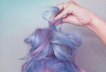 hair ↠ / Colourful, fun hair