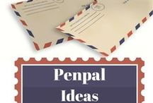 Penpal Ideas / Fun ideas for letters and snail mail writing