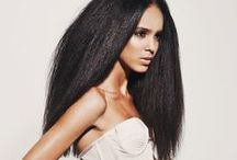 Straight / Some of my favourite straight styles and relaxed hair styles