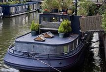 Houseboat Living / Toss earth for water, we have!
