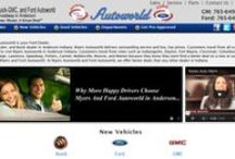 "About Ford Autoworld / We Work for you by serving and saving you more.""  With an attention to your total satisfaction.  We have been in business over 50 years and throughout that time have never lost sight of the fact that you as a consumer are our boss.  We hope to see you soon and it's our pleasure to serve you for the next 50 years."