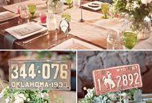 Wedding table numbers / by La cesta de mi bici