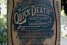 Antique medicine and medical tools