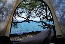 """Glamping (D's idea to get me """"camping"""") / Lux outdoor"""