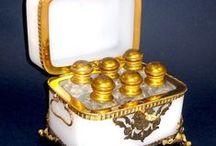 Perfume caskets / French Perfume Caskets
