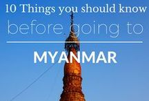 Myanmar Travel Inspiration / Inspirational stories and pictures from Myanmar (Burma).