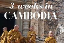 Cambodia Travel Inspiration / Inspirational stories and pictures from Cambodia.
