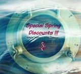 HELLO SPRING! Our Spring Special Discounts up to 30% are now on! / 04/03 - 20/05/17 2-3 cab older than 2011 now 20% off 4-5 cab older than 2010 now 30% off Yachts between 2014-2017 now 12% off 20/05 - 29/07/17 2-3 cab older than 2011 now 17% off 4-5 cab older than 2010 now 23% off Yachts between 2014-2017 now 8% off 29/07 - 02/09/17 2-3 cab older than 2011 now 15% off 4-5 cab older than 2010 now 20% off Yachts between 2014-2017 now 8% off 02/09 - 21/10/17 2-3 cab older than 2011 now 12% off 4-5 cab older than 2010 now 20% off Yachts between 2014-2017 now 5% off
