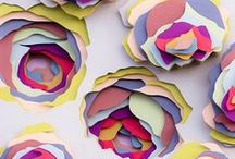 Paper Art / Inspiration for paper art.