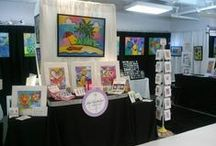 Shows / Keep your eye open for Nettie Price Sparkling Art at an art show or wholesale trade show near you!  Shows attended are from PA to FL and anywhere in between.