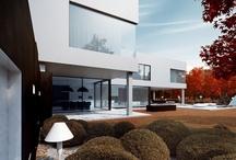 Black & White House / Architecture