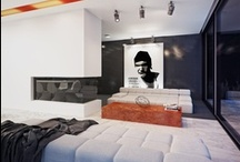 Black & White Interiors / Interiors
